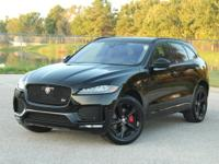 ***BLACKED OUT ULTRA PREMIUM **JAGUAR F-PACE S - AWD**