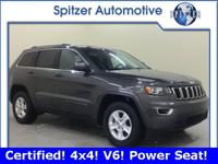 **Jeep Certified* *4x4* *3.6L V6* *Power Seat* *Backup