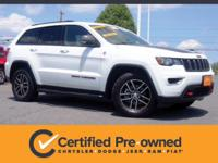 Certified. CARFAX One-Owner. This 2017 Jeep Grand