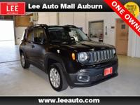 2017 Jeep Renegade Latitude Black Bluetooth, Hands free