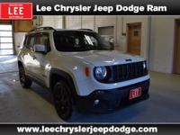 2017 Jeep Renegade Latitude White Bluetooth, Hands free