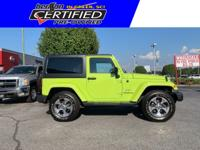 PRICED BELOW NADA RETAIL VALUE OF $33,775. 4WD!!,