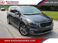 - - - 2017 Kia Sedona SX-L FWD - - -  4 Wheel Disc