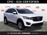 Recent Arrival! KIA CERTIFIED PRE-OWNED WARRANTY / CPO