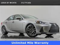 2017 Lexus IS 350, L/Certified, located at Lexus of