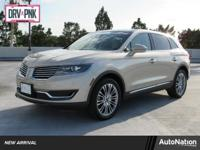 LINCOLN MKX CLIMATE PACKAGE,Sun/Moonroof,Leather