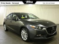 2017 Mazda Mazda3 Touring 2.5 in machine gray metallic,