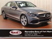 This 2017 Mercedes-Benz C-Class C 300 comes loaded with