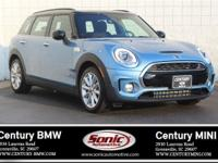 * Mini Certified Pre-Owned * This 2017 Mini Clubman