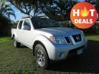 2017 Nissan Frontier PRO 4WD 5-Speed Automatic with