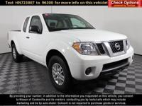 CARFAX One-Owner.2017 Nissan Frontier SV RWDGlacier
