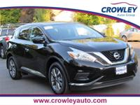 2017 Nissan Murano S AWD Magnetic Black