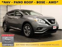 NAVIGATION, PANORAMIC MOONROOF, BACKUP CAMERA, ALL