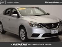 PRE-CERTIFIED, Sentra SV, 4D Sedan, Silver.Priced below