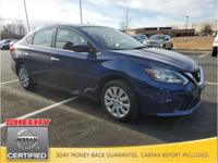 CARFAX One-Owner. Clean CARFAX. 2017 Nissan Sentra SV