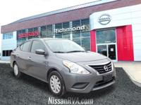 2017 Nissan Versa 1.6 SVCertified. Nissan Certified