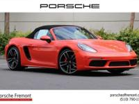 Porsche Fremont presents this 2017 Porsche 718 Boxster