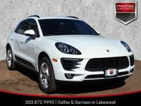 2017 Porsche Macan S in Carrara White MetallicPorsche