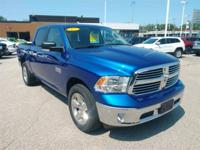 Recent Arrival! 2017 Ram 1500 Blue  3.21 Rear Axle