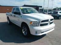 Recent Arrival! 2017 Ram 1500 Express White ABS brakes,