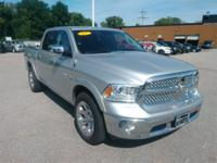 Recent Arrival! 2017 Ram 1500 Laramie Odometer is 12792