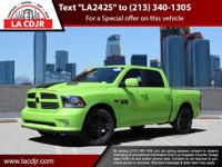 Recent Arrival!L.A. CJDR offers this Ram 1500 with