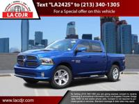 L.A. CJDR offers this Ram 1500 with comfort,