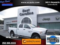 One owner. Purchased new here. Ram Certified Pre-Owned.