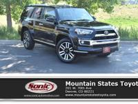 Look at this 2017 Toyota 4Runner Limited. Its Automatic