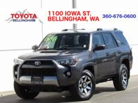 PRICE REDUCED!!! * CERTIFIED * 4X4 * TRD OFF-ROAD