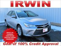 TOYOTA CERTIFIED! LOW MILES! BACKUP CAMERA! TOUCH