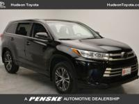 2017 Toyota Highlander LETOYOTA CERTIFIED, BLUE TOOTH,