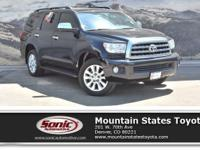 Come see this 2017 Toyota Sequoia Platinum. Its