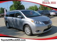 We are excited to offer this 2017 Toyota Sienna. When