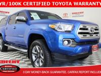 2017 Toyota Tacoma Limited V6Toyota Certified Used