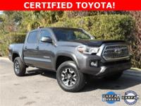 2017 Toyota Tacoma TRD OffroadTOYOTA CERTIFIED*7YR/100K