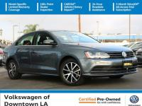 Certified. Platinum Gray Metallic 2017 Volkswagen Jetta