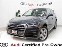 CARFAX 1-Owner, Local Trade-In, Very Low Miles, Q5 2.0T