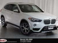This 2018 BMW X1 sDrive28i is a One Owner vehicle with