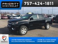 2018 Chevrolet LT Colorado Black Navigation, Backup