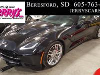 2018 Corvette Stingray Convertible. Black/ Jet Black