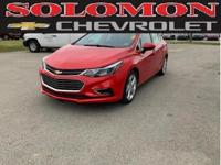 LEATHER! THIS CERTIFIED 2018 CHEVROLET CRUZE PREMIER