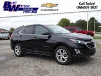 Certified - 2018 Equinox LT **AWD**Back-Up
