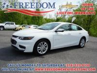 1LT Malibu LT Summit White *CLEAN VEHICLE HISTORY