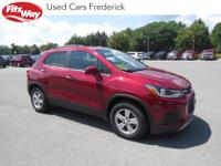 2018 Red Tintcoat Chevrolet Trax 6-Speed Automatic