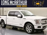 2018 Ford F-150 Super Crew Cab Lariat 4wdThis is one of