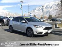 Ingot Silver 2018 Ford Focus SE FWD 6-Speed Automatic