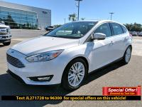 CARFAX One-Owner. Certified. White 2018 Ford Focus