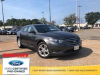 CARFAX One-Owner. Magnetic Metallic 2018 Ford Taurus