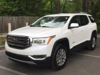 This Clean Carfax One Owner 2018 GMC Acadia SLE